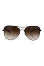 Michael Kors MK 1012 113313 Vivianna I - Gunmetal Purple/Smoke Gradient by Michael Kors for Women - 58-15-135 mm Sunglasses