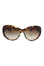 Michael Kors MK 2002QM 302813 Brazil - Tortoise/Dark Brown Gradien by Michael Kors for Women - 60-16-125 mm Sunglasses