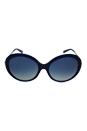 Michael Kors MK 2015B 30884L Willa I - Blue Gold/Blue by Michael Kors for Women - 58-18-135 mm Sunglasses