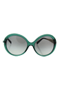 Michael Kors MK 2015B 309011 Willa I - Emerald-Gold/Grey Gradient by Michael Kors for Women - 58-18-135 mm Sunglasses