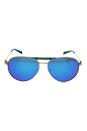Michael Kors MK 5001 109725 Zanzibar - Gold Turquoise/Teal Blue by Michael Kors for Women - 58-14-135 mm Sunglasses