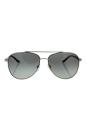 Michael Kors MK 5007 104211 - Hvar - Silver Black/Grey by Michael Kors for Women - 59-14-135 mm Sunglasses