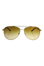 Michael Kors MK 5007 10442L - Hvar - Gold/Brown by Michael Kors for Women - 59-14-135 mm Sunglasses