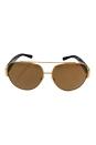 Michael Kors MK 5012 10652T Tabitha II - Gold Black/Gold Polarized by Michael Kors for Women - 59-12-135 mm Sunglasses