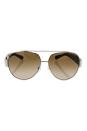 Michael Kors MK 5012 106813 - Tabitha II - Silver Tortoise/Tortoise by Michael Kors for Women - 59-12-135 mm Sunglasses