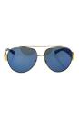 Michael Kors MK 5012 106955 Tabitha II - Gold Blue Glitter/Blue by Michael Kors for Women - 59-12-135 mm Sunglasses