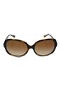 Michael Kors MK 6017 300613 Isle Of Skye - Dark Tortoise/ Brown Gradient by Michael Kors for Women - 58-17-135 mm Sunglasses