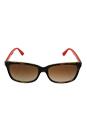Michael Kors MK 6023 307513 Johannesburg - Orange/Brown by Michael Kors for Women - 55-16-135 mm Sunglasses