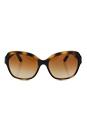 Michael Kors MK 6027 300613 - Tabitha III - Dark Tortoise/Brown by Michael Kors for Women - 55-18-135 mm Sunglasses