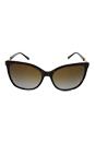 Michael Kors MK 6029 3106T5 SabinaII-Dark Tortoise Gold/Brown Gradient Polarized by Michael Kors for Women - 56-16-135 mm Sunglasses