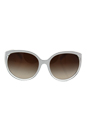 Michael Kors MK 6036 312613 Mitzi II - White-Clear Gradient/Smoke Gradient by Michael Kors for Women - 60-18-135 mm Sunglasses