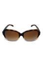 Michael Kors MK 6037 312513 Mitzi III - Tortoise Clear/Brown by Michael Kors for Women - 57-16-135 mm Sunglasses
