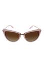 Michael Kors MK 6039 314813 Abela II - Milky Pink/Brown Gradient by Michael Kors for Women - 56-17-140 mm Sunglasses