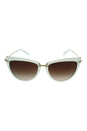 Michael Kors MK 6039 315713 Abela II - Mint Green/Smoke Gradient by Michael Kors for Women - 56-17-140 mm Sunglasses