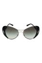 Prada SPR 60S 1AB-0A7 - Silver/Black by Prada for Women - 55-16-135 mm Sunglasses