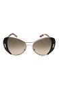 Prada SPR 60S DHO-3D0 - Silver/Brown by Prada for Women - 55-16-135 mm Sunglasses