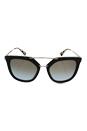 Prada SPR 13Q DHO-4S2 - Brown Gold/Light Blue Brown by Prada for Women - 54-20-140 mm Sunglasses