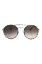 Prada SPR 51S 2AU-4K0 - Silver Dark Havana/Pink Gradient Grey by Prada for Women - 54-22-135 mm Sunglasses
