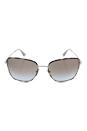 Prada SPR 52S UAO-4S2 - Opal Havana Silver/Light Grey Shaded by Prada for Women - 58-19-140 mm Sunglasses