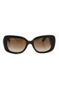 Prada SPR 27O 2AU-6S1 - Brown/Brown by Prada for Women - 54-19-135 mm Sunglasses