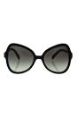 Prada SPR 05S 1AB-0A7 - Black/Grey by Prada for Women - 56-19-135 mm Sunglasses