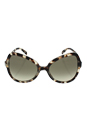 Prada SPR 05S UAO-4K1 - Spotted Opal Brown/Green Gradient Grey by Prada for Women - 56-19-135 mm Sunglasses