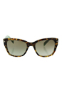 Prada SPR 09S UEZ-4K1 - Spotted Brown Green/Green by Prada for Women - 54-20-140 mm Sunglasses