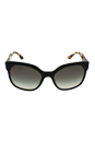Prada SPR 10R 1AB-0A7 - Black Havana/Grey Shaded by Prada for Women - 57-19-140 mm Sunglasses