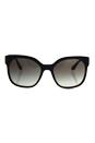 Prada SPR 10R TKF-0A7 - Black/Grey by Prada for Women - 57-19-140 mm Sunglasses