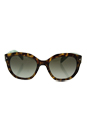 Prada SPR 12S UEZ-4K1 - Spotted Brown Green/Green by Prada for Women - 53-20-140 mm Sunglasses