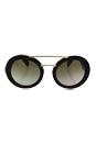 Prada SPR 15S 2AU-4M1 - Havana/Green Gradient by Prada for Women - 53-25-140 mm Sunglasses