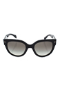 Prada SPR 17O 1AB-0A7 - Black/Grey by Prada for Women - 54-22-140 mm Sunglasses