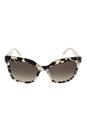 Prada SPR 24Q UAO-3D0 - Spotted Opal Brown by Prada for Women - 53-19-140 mm Sunglasses