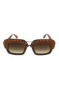Prada SPR 26R UA7-6S1 - Nut Canaletto/Brown by Prada for Women - 51-25-140 mm Sunglasses
