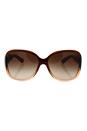 Prada SPR 27M GO5-6S1 - Brown/Browm by Prada for Women - 60-15-130 mm Sunglasses