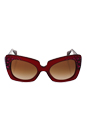 Versace VE 4308B 5171/13 - Transparent Red/Brown Gradient by Versace for Women - 54-22-140 mm Sunglasses