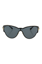 Versace VE 2172B 1252/87 - Gold/Grey by Versace for Women - 42-142-140 mm Sunglasses