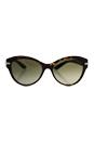 Versace VE 4283B - 108/13 - Dark Havana/Brown by Versace for Women - 57-17-140 mm Sunglasses