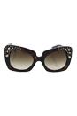 Versace VE 4308B K002/13 Gold Edition - Havana/Brown Gradient by Versace for Women - 54-22-140 mm Sunglasses