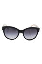 Burberry BE 4187 3507/8G - Black/Grey by Burberry for Women - 59-19-140 mm Sunglasses