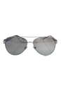 Burberry BE 3084 1005/6V - Silver/Light Grey Gradient Silver by Burberry for Women - 57-14-140 mm Sunglasses