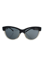 Burberry BE 4206 3558/87 - Top Black On Grey/Grey by Burberry for Women - 55-17-140 mm Sunglasses