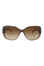 Burberry BE 4192 3516/13 - Beige/Brown Gradient by Burberry for Women - 56-17-135 mm Sunglasses