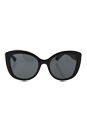 Dolce & Gabbana DG 4233 2857/87 - Top Black On Leopard/Grey by Dolce & Gabbana for Women - 53-20-140 mm Sunglasses