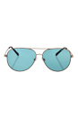 Michael Kors MK 5016 102665 Kenda II I - Rose Gold/Teal Solid by Michael Kors for Women - 60-12-135 mm Sunglasses