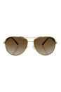Michael Kors MK 5014 102413 Sabina III - Gold Brown/Brown by Michael Kors for Women - 59-14-135 mm Sunglasses