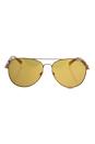 Michael Kors MK 1003 10915N Fiji - Bronze Copper/Orange Flash by Michael Kors for Women - 58-14-135 mm Sunglasses
