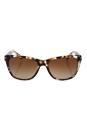 Michael Kors MK 2022 316913 Rania II - Tiger Tortoise/Brown Gradient by Michael Kors for Women - 54-17-135 mm Sunglasses