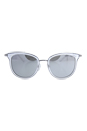 Michael Kors MK 1010 11026G Adrianna I - Clear Silver/Silver by Michael Kors for Women - 54-20-135 mm Sunglasses