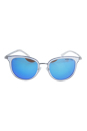 Michael Kors MK 1010 110525 Adianna I - Clear Silver/Blue by Michael Kors for Women - 54-20-135 mm Sunglasses